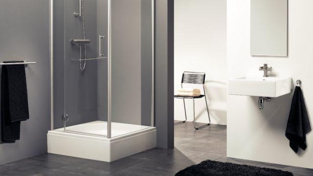 douche installeren. Black Bedroom Furniture Sets. Home Design Ideas